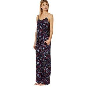 EQUIPMENT Avery Wide Leg Peacoat Pajama Silk Pants
